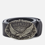 Wranglers Men's CTF Eagle Belt - Black