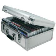 Citronic Aluminium CD Flight Case - Silver