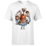 ET Painted Portrait T-Shirt - White