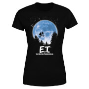 ET Moon Silhouette Women's T-Shirt - Black