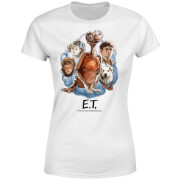 ET Painted Portrait Women's T-Shirt - White