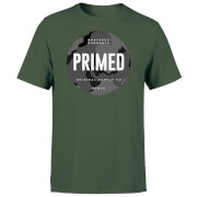 Camiseta Primed Stamp - Hombre - Verde oscuro