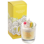 Bomb Cosmetics Pina Colada Piped Candle