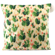 Black Ginger Cactus Cushion