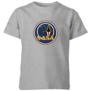 NASA JM Patch Kids' T-Shirt - Grey