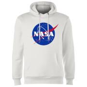 Sudadera NASA Logo - Hombre - Blanco