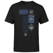 Star Wars The Resistance Schwarz T-Shirt - Schwarz