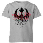 Star Wars Shattered Emblem Kids' T-Shirt - Grey