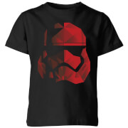 Star Wars Jedi Cubist Trooper Helmet Black Kids' T-Shirt - Black