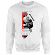 Star Wars Captain Phasma Sweatshirt - White