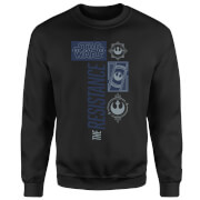 Star Wars The Resistance Black Sweatshirt - Black