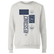 Star Wars The Resistance Weiß Damen Pullover - Weiß