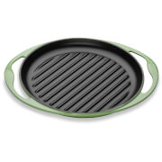 Le Creuset Cast Iron Round Skinny Grill - 25cm - Rosemary