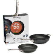Le Creuset Toughened Non-Stick Shallow 24cm Frying Pan and Deep 28cm Multibuy Set