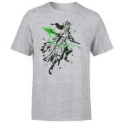 Magic The Gathering Nissa Character Art T-Shirt - Grey