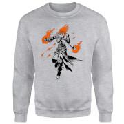 Magic The Gathering Chandra Character Art Trui - Grijs