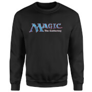 Magic The Gathering 93 Vintage Logo Pullover - Schwarz