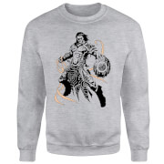 Magic The Gathering Gideon Character Art Pullover - Grau