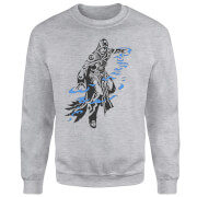 Magic The Gathering Jace Character Art Pullover - Grau