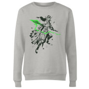 Magic The Gathering Nissa Character Art Women's Sweatshirt - Grey
