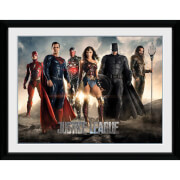 DC Comics Justice League Characters 12 x 16 Inches Framed Photograph