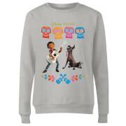 Coco Miguel Logo Women's Sweatshirt - Grey