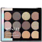 NIP + FAB Make Up Eyeshadow Palette – Cool Neutrals 12 g