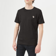 PS by Paul Smith Men's Regular Fit Zebra T-Shirt - Black