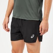 Asics Men's Silver 5 Inch Shorts - Performance Black