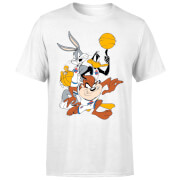 Space Jam Group Shot Men's T-Shirt - White