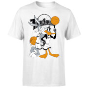 Space Jam Bugs And Daffy Time Squad Men's T-Shirt - White