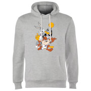 Space Jam Group Shot Hoodie - Grey