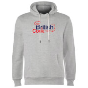 British Cook Red Hoodie - Grey