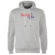 British Cook Logo Hoodie - Grey