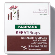 Klorane KERATINcaps Hair and Nails Dietary Supplements - 30 Capsules