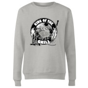 King Of The Grill Women's Sweatshirt - Grey