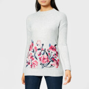 Joules Women's Penny Embroidered Jumper - Grey Marl