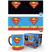 DC Comics Superman Costume Heat Change Mug