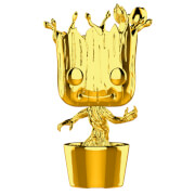 Marvel Studios 10th Anniversary Groot Gold Chrome Funko Pop! Figuur