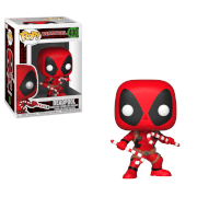 Marvel Holiday - Deadpool with Candy Canes Pop! Vinyl Figur