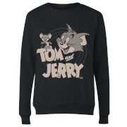 Tom & Jerry Circle Women's Sweatshirt - Black