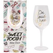Sweet Tooth 'Fri Yay' Wine Glass