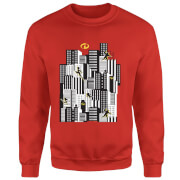 The Incredibles 2 Skyline Sweatshirt - Red