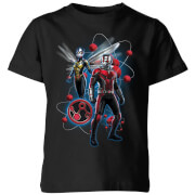 Ant-Man And The Wasp Particle Pose Kids' T-Shirt - Black