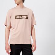Helmut Lang Men's Helmut Box Logo T-Shirt - Desert Rose
