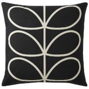 Orla Kiely Linear Stem Cushion - Slate