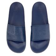 Crosshatch Men's Tulum Sliders - Estate Blue