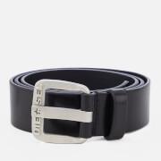 Diesel Men's B-Star Leather Belt - Black/Opac Free
