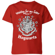 Harry Potter Waiting For My Letter From Hogwarts Kids' T-Shirt - Red