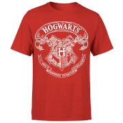 Harry Potter Hogwarts Crest Men's T-Shirt - Red